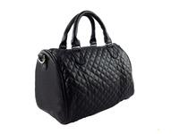 2014 new arrival Free shipping whole sale PU black  Handbags