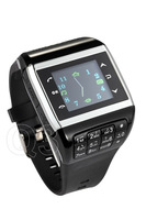 """Best Q3 Wrist Smart Watch Quad Band 1.4"""" Touch Screen With Bluetooth MP3 MP4 Unlocked GSM 2GB Dual SIM Wristwatch Free Shipping"""