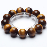 Fashion Natural Tiger Stone Beads Bracelets Elastic Women Bracelets Logo Charm Bracelets Jewelry Pulseiras 8mm