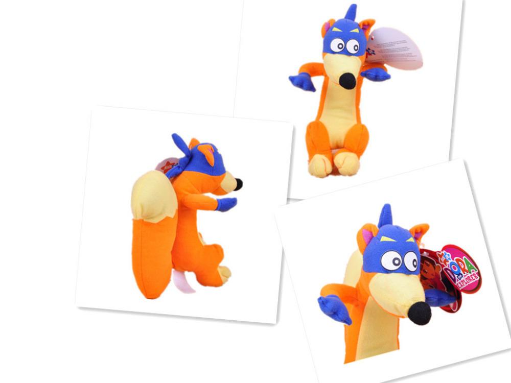"Lovely 8"" Swiper The Fox Stuffed Plush Dora the Explorer Figures Soft Toys Dolls(China (Mainland))"