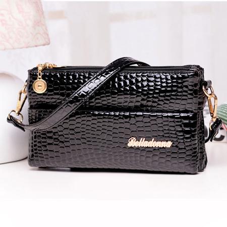 Supper Deal!Women Leather Handbags Famous Designer Bags 2014 Shoulder Bags Alligator Small Bolsas Femininas Sac Desigual Bag(China (Mainland))