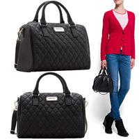 Mango Brand High Quality Fashion Womens Handbags PU Vintage Plaid Tote Bag Ladies Desigual Shoulder Bags Messenger 2014 New