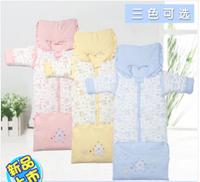 2014 New arrival Retail Newborn Baby Sleeping Bag Winter cotton bag High quality soft for Infant Fleabag Thick Children blanket