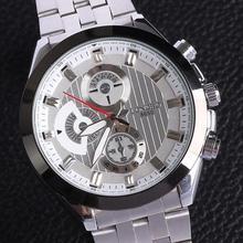 Watch luxury men genuine quartz jewelry Japan movement stainless steel alloy watchmen wristwatches