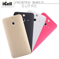 Original Nillkin Brand Super Shield Frosted Hard Case For HTC One E8 With Screen Film & Retail ,10pcs/lot free shipping