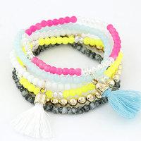 New Arrival Beads Tassels Multipack Bracelet & Bangles Fashion Women Bracelets Accessories Wholesale