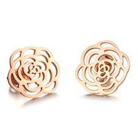 Accessories hawkshaws the blossom love earrings stud earring color gold female earrings vintage accessories gift n267