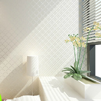 Non-woven foam wallpaper refined contemporary style bedroom living room TV background wallpaper
