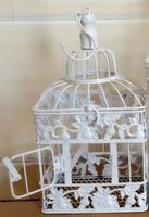 Wedding decoration bird cage black ,copper, white birdcage custom made