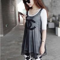 Free shipping ,women brand shirt ,fashion Autumn t shirt for women ,good quality ,women casual cotton t shirt.TB-58