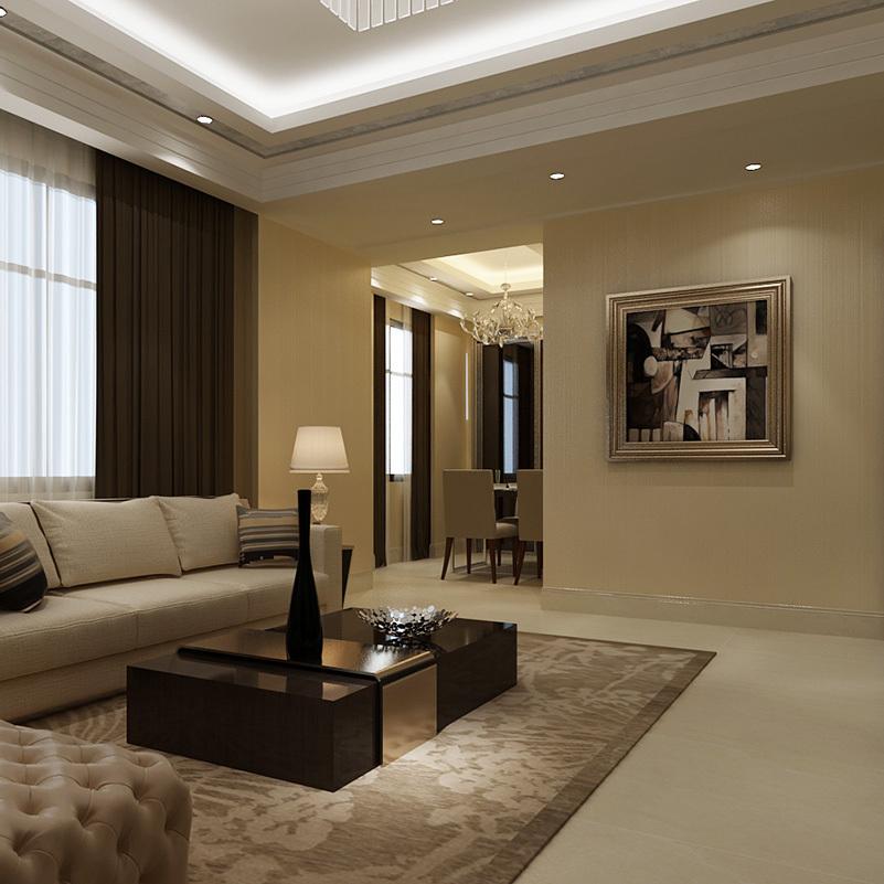 Brief plain non-woven wallpaper solid color solid color white wallpaper living room tv wallpaper(China (Mainland))