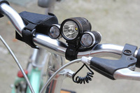 3000Lm CREE XM-L T6 LED Front Bicycle Lamp bike Head Light Headlamp