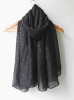 (free shipping)46 colors diamond  glitter shawl  muslim shawl ,muslim scarf ,muslim hijab ,180*100cm ,viscose can choose colors