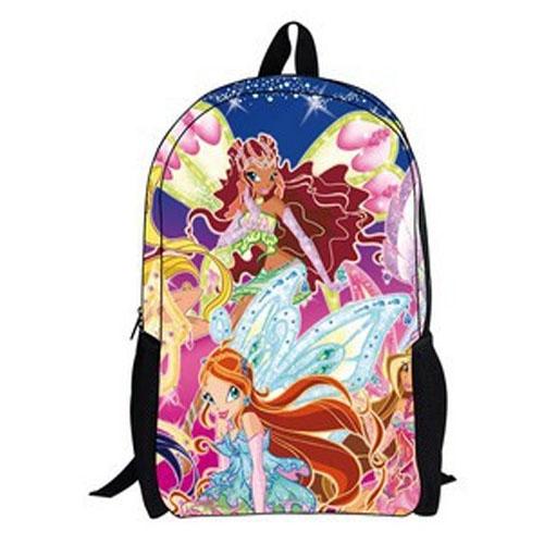 Hot winx club sacs d'école pour enfants cartable sac de dessin animé ...
