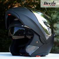 new casco capacetes men women flip up motorcycle helmet S SIZE helmet winterproof motorcross helmets 10 color size L/XL/XXL
