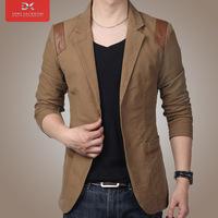 Free shipping, Fashion men plus size blazer outerwear male slim single suit