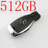 car keys USB FLASH DRIVE for benz keys8GB- 512GB usb flash memory free shipping usb 2.0 disk plastic usb