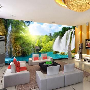 Naturaleza esc nica cascada wallpaper paisaje papel - Papel pintado paisaje ...