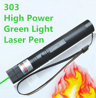 303 Lazer Li-ion Laser Pen Lasers Pointer green light high power burning match Saftey key laser pointer