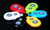 5pcs/lot 2014 Latest Colorful R-SIM Smart Bluetooth Remote shutter Control Camera For IOS/Android Smartphone Mobile Phone