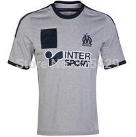 Marseille Jersey 2014 away top Thailand quality footaall shirt olympique de marseille jersey 14 15 soccer jerseys customize