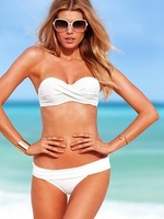 New Arrival 2014 Sexy Women Bra Padded Bikini Swimwear Brand Swimsuit size S M L