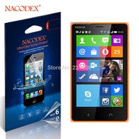 6pcs Nacodex HD Clear screen Protector Cover Film For  Nokia X2 Dual SIM  X2DS [100% Original] [Retail Box] [Free Shipping]