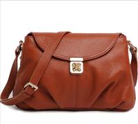 Free shipping ms leather bag, real head layer cowhide fashion single shoulder bag Shoulder messenger bag