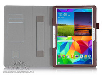 Resale Galaxy Tab s 10.5 inch T800 Stand Leather Case For samsung galaxy tab s 10.5 +screen protectors+stylus touch pen