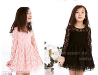 baby girls elegant lace dress,5pcs/lot,14FXY06