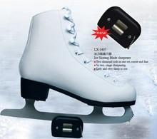 retail 1PC DMD LX-1407  Ice Skating Blade Sharpener  Skate Sharpener diamond Hand Held Skate Sharpening tool  skating tool(China (Mainland))