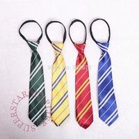 Brand-new Hogwarts School Convenient  Kids Zipper Style Neck Tie Harry Potter Costume Accessory Birthday Halloween Xmas Gifts