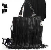 2014 new designer occident fashion long tassel handbag for women high quality Shoulder hand bag Messenger bag bg-0144