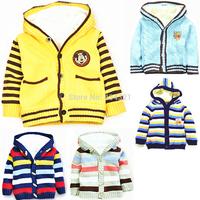 Best selling Boy baby sweaters jacket children mickey knit sweater autumn winter boys' coat famous brand outerwear kids costumes