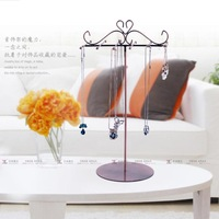 New arrival vintage iron necklace jewelry rack display rack accessories rack the disassemblability iron display rack