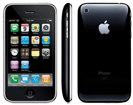 Iphone 3G Original brand unlocked GPS WIFI 8GB/16GB storage white black color mobile Phones(China (Mainland))