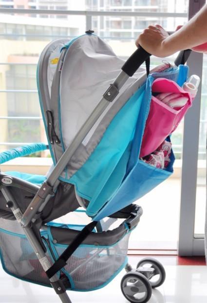 Baby Toddler Bag Infant Carriage Buggy Sack Pram Diaper Storage Pocket Kids Stroller Waterproof Carrying Bag Hanging Bag(China (Mainland))