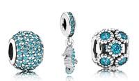 925 Sterling Silver Pendant Charm Bead Sets Fit European Style Jewelry Bracelet Necklaces-Sweet Pet
