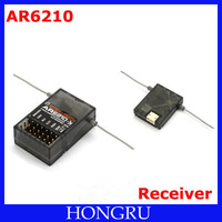 Special sales--AR6210 6-Channel Receiver W/ Remote Anteena JR X9503 11X 12X FOR RC HELICOPTER AIRPLANE 600 AR500 AR6100E AR6200