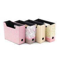 1Pcs Desk Decor Organizer Cute DIY Paper Board Storage Box Makeup Cosmetic Stationery