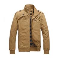 Casual Man Jacket 2014 New Arrival Men's Fashion Casual Winter Jacket Cotton Coat Outdoors Sportwear Slim Jaqueta Masculina Z298