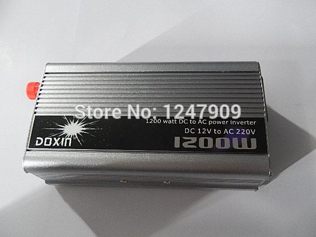 12V 1200W Inverter 12V 220V Power Converter Car hom Free Shipping(China (Mainland))