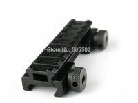 "2pcs AR Flat top 1/2"" inch See Through Riser Scope Rail Mount 8 slot Picatinny Weaver M0078"