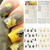 2014 New Novetly Multi Shape Nail Art Sticker/Hot Sale Fashion 1 Sheet  Nail Sticker Decal