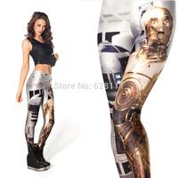 1PC Star Wars darth vader Digital Printing Leggings Fitness Leggings Printed Women Comic  Fashion Girls Pants  Free Shipping