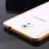 New Circular Arc Metal Hard Aluminum Bumper Frame for Samsung Galaxy Note 3 N900 N9000 N9005 N9008 N9009 Phone Case Capa Celular
