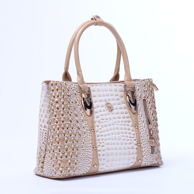 2014 frauen krokodiltasche mode frauen handtasche marke berühmten hochwertigen leder schulter handtaschen totes bolsas femininas