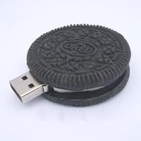 Hot+42 Cartoon Oreo model USB flash drives Chocolate pen drive Plastic memory Stick pendrive toy gift 8GB 64GB