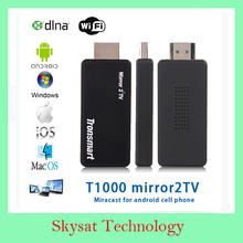 Original Tronsmart T1000 Miracast dongle Mirror2TV Wireless Display HDMI adapter /DLNA/EZCAST beyond chromecast(China (Mainland))