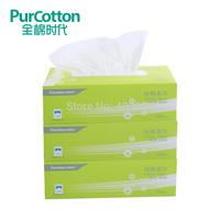 (3boxes/lot) Purcotton 100% Classic edition soft cotton towel super soft wet and dry dual-use 100pcs/box